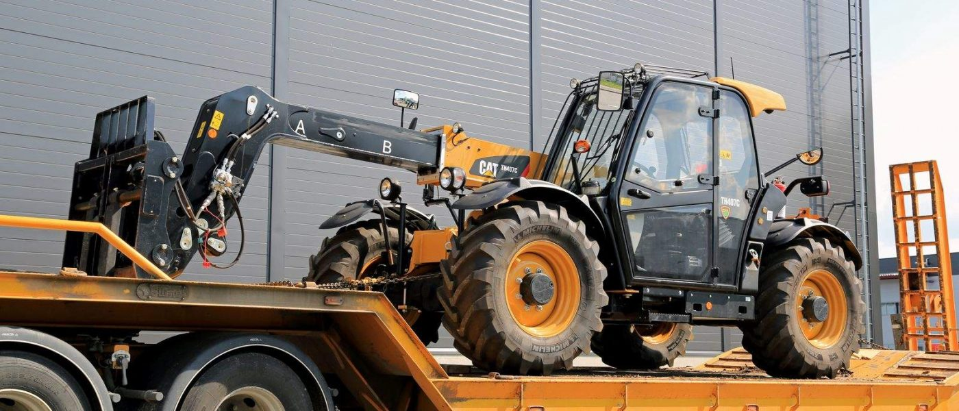 Caterpillar TH407C Telescopic Handler